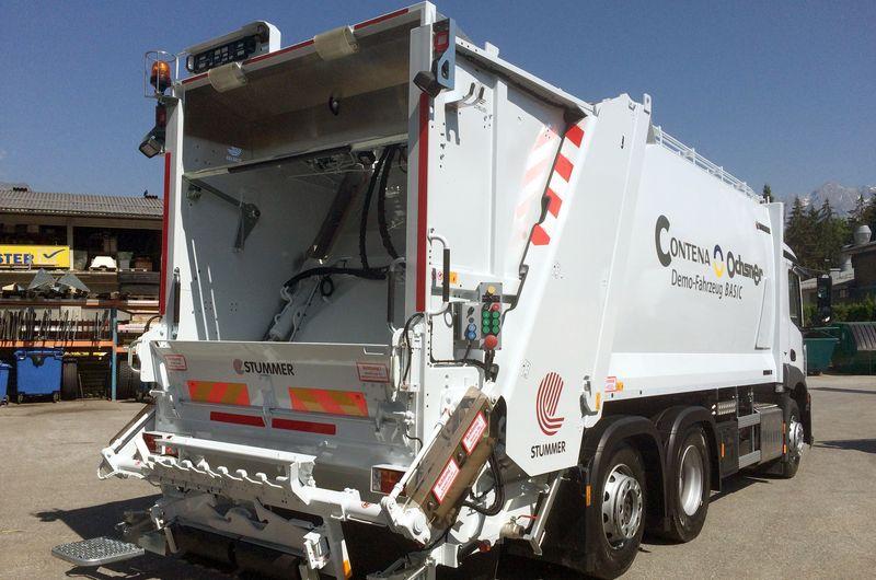 Kerichtfahrzeuge - Basis Modell - Contena-Ochsner Referenzen