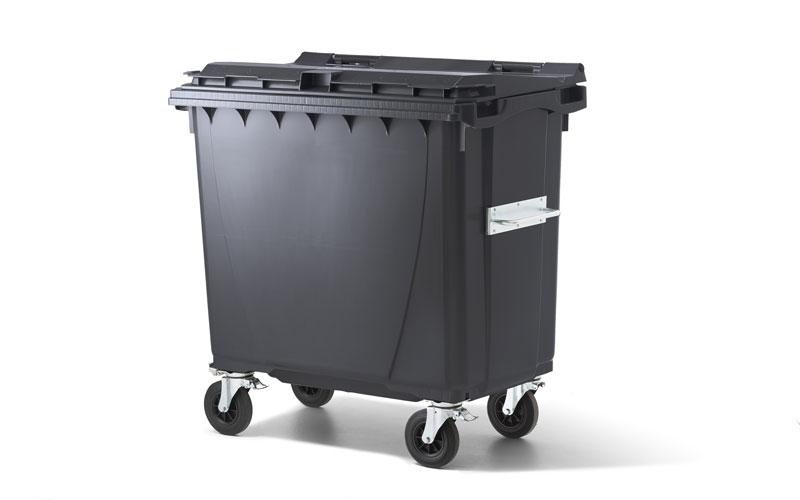 2- & 4-Rad Kunststoffcontainer in allen Größen und Farben
