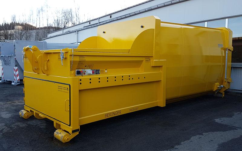 Presscontainer von Beringer in gelb