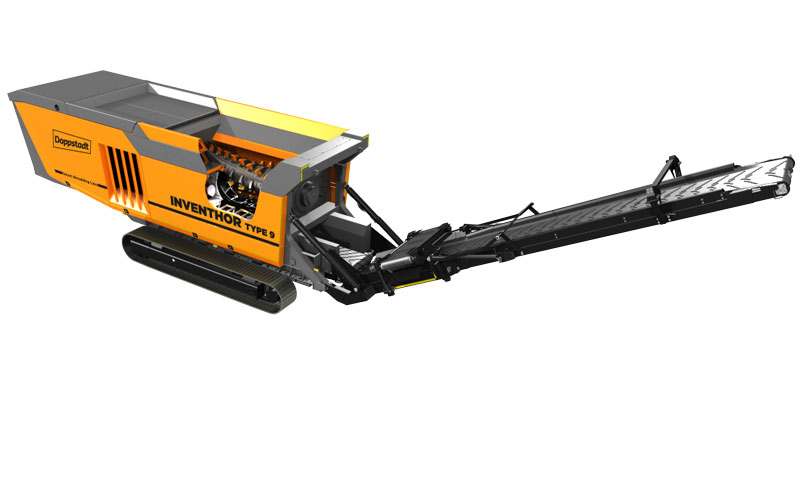 Langsam- und Schnellläufer Schredder Inventhor Type 9