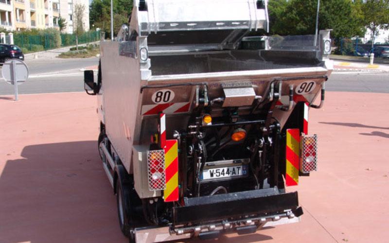 Urbanéa Kehrichtfahrzeug in der Version Bi-Flow-Sammlung oder für Grüngut