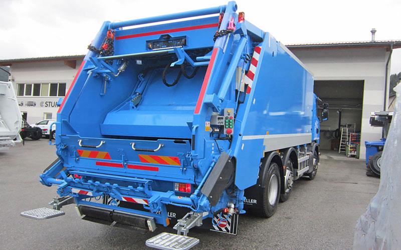 Abfallsammelfahrzeug Stummer Magnum in Blau