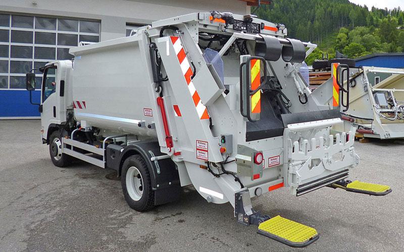 Pressmüllwagen Stummer Micro XL