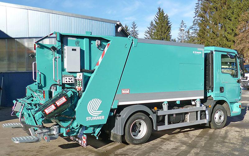 Müllwagen Stummer Mini – Hecklader