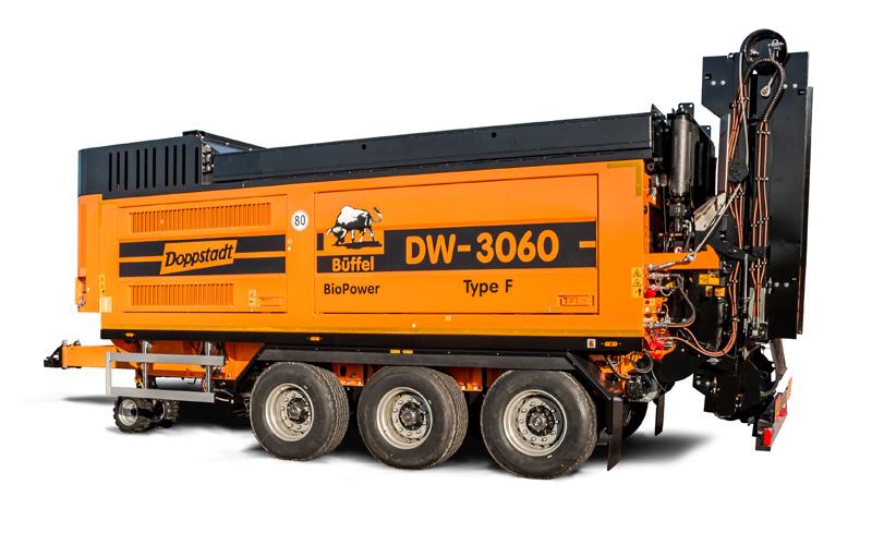 Schredder DW 3060 Type F – BioPower