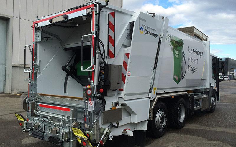 Faun Powerpress – Abfallsammelfahrzeug für alle Behälter bis 10 m³