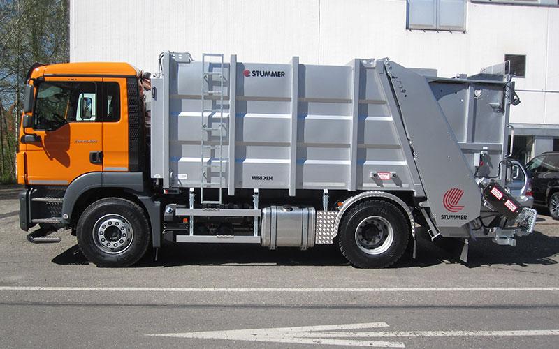 Stummer Mini XL-High: Kehrichtfahrzeug für die Stadt und ländliche Gebiete