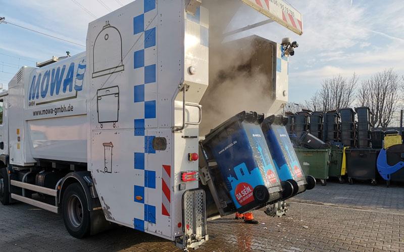 Wassertank kann zwischen 4000-8000 Liter