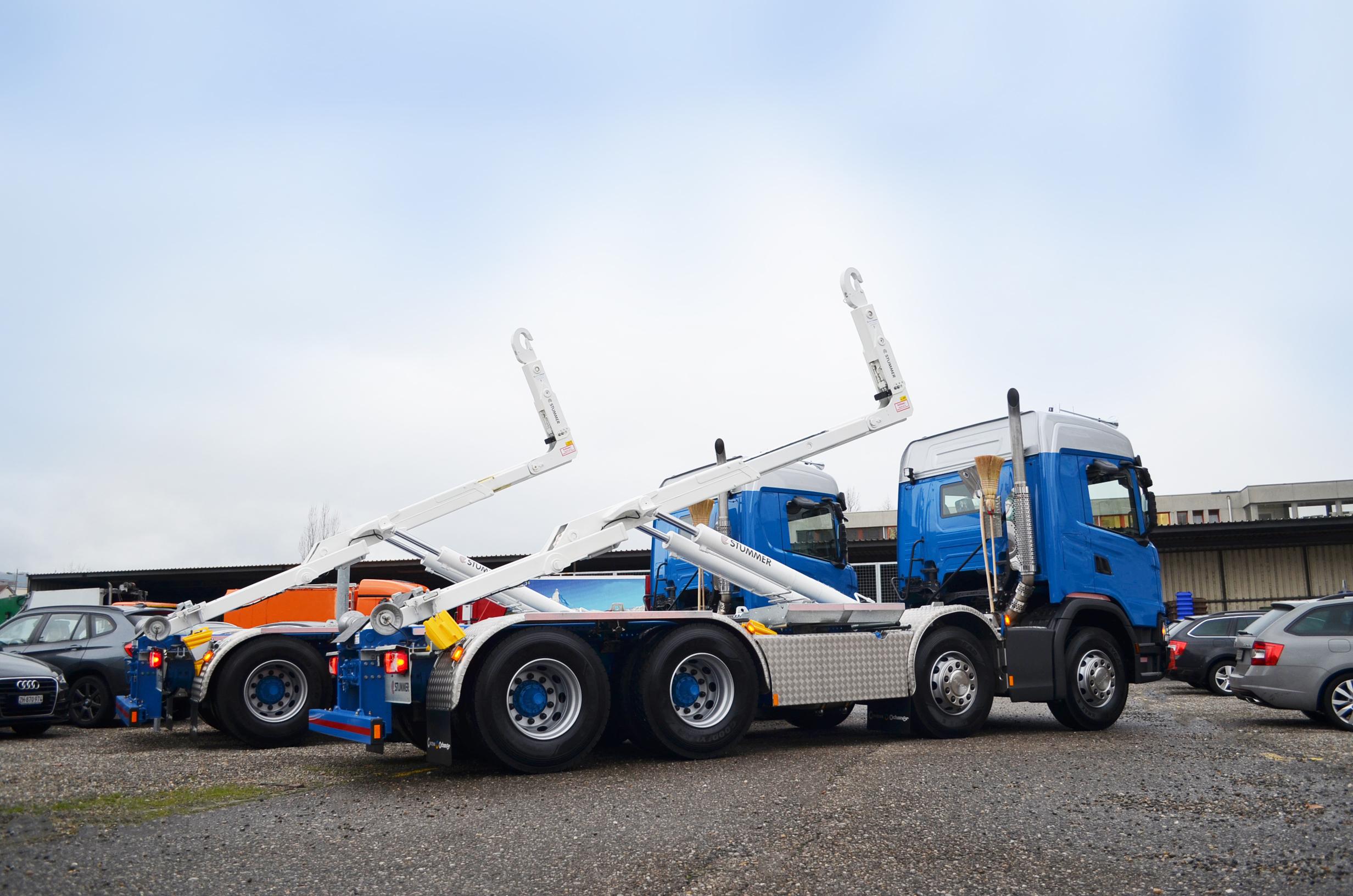 Hyva Abrollkipper Titan SK: Der sicherste, zuverlässigste und schnellste Abrollkipper
